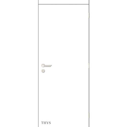Bloc-porte Thys 'Concept S60' brillant blanc 83cm