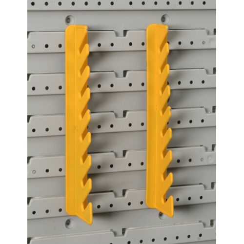 Porte clefs Allit 'StorePlus Flex M' jaune