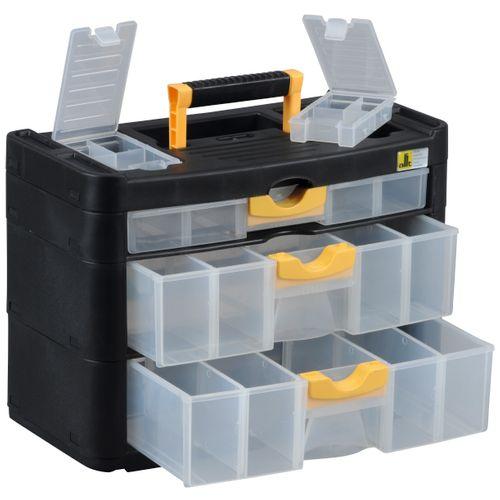 VarioPlus Cabinet 15, zwart/geel