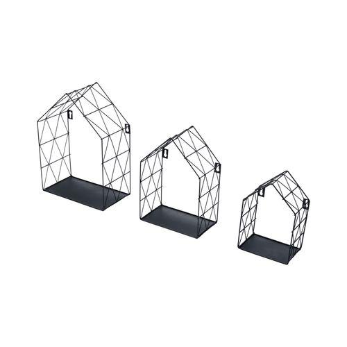 Support pour étagère Duraline Swing chrome 23,5x23,5cm