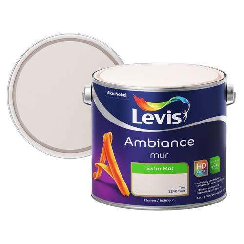 Levis muurverf Ambiance Muur tule extra mat 2,5L