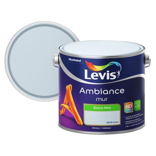 Levis Ambiance Mur Extra Mat Soda 2,5 L