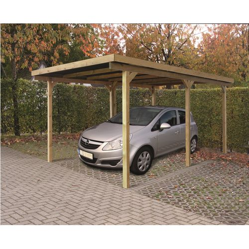 Solid carport S711 15m²