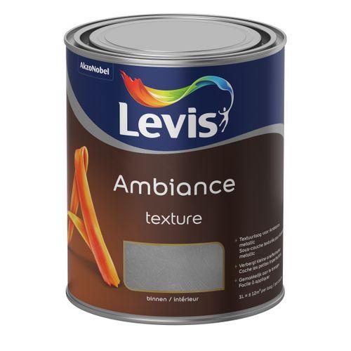 Peinture murale Levis Ambiance Texture beige mat 1L