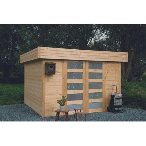 Solid abri de jardin Odense bois 9,12m² 302x302cm