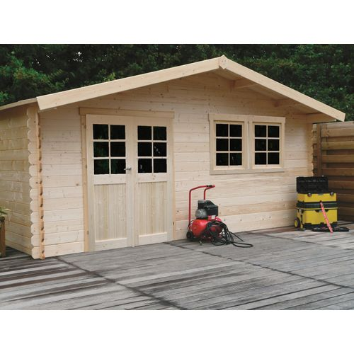 Abri de jardin Solid 'Vernier' bois 26,46 m²