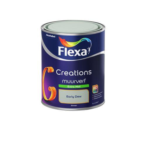 Flexa muurverf Creations extra mat 3031 early dew 1L