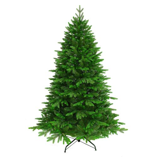 Sapin de Noël artificiel Central Park Natural Deluxe vert 210cm