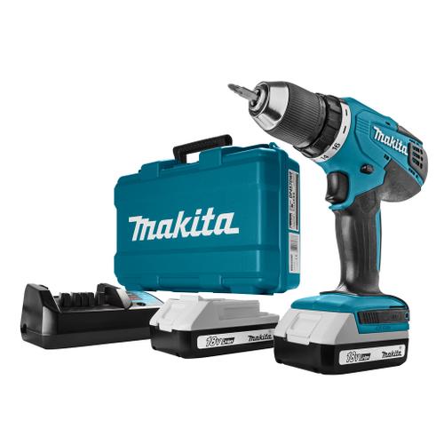 Makita accuschroefboormachine DF457DWE 18V