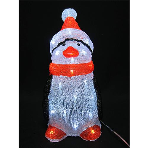 Luminaire pingouin Central Park LED 38 cm