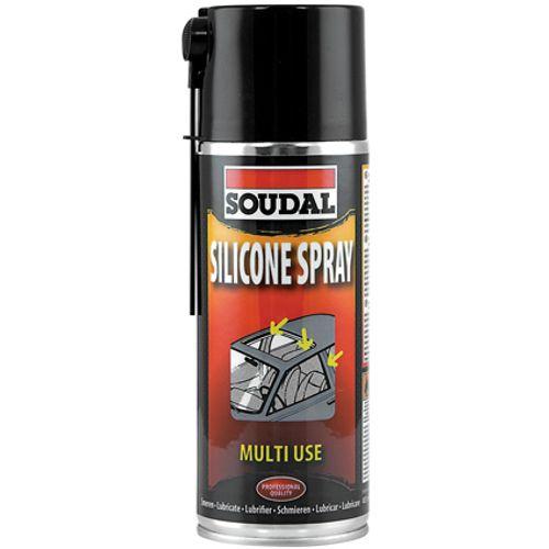 Spray silicone Soudal 400 ml