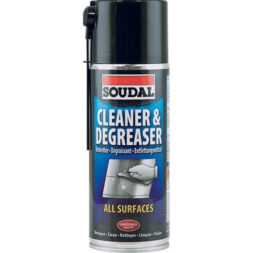 Soudal reiniger en ontvetter alle oppervlakken spray 400ml