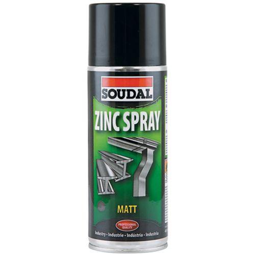 Soudal Zinc spray mat 400ml