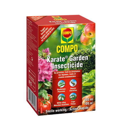 Compo Karate Garden insecticide concentraat 100ml