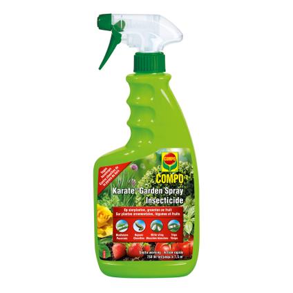 Insecticide prêt à l'emploi Compo 'Karate Garden Spray' 750 ml