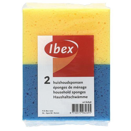 Ibex huishoudspons - 2 stuks
