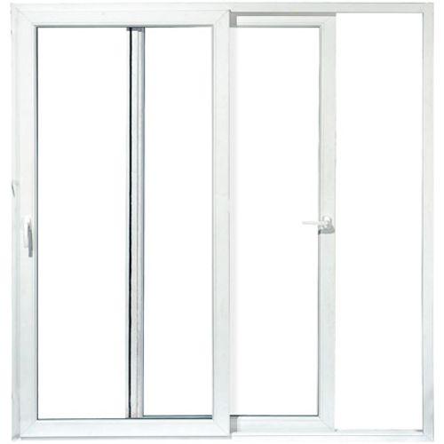 Porte-fenêtre 2 vantaux coulissants 218 x 186 cm