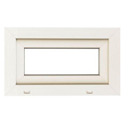 Fenêtre tombante 'SP0404' PVC blanc 48 x 46 cm