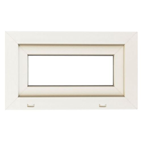 Openvallend raam 'SP0406' PVC wit 48 x 66 cm
