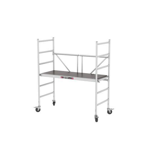 Altrex vouw- en rolsteiger 'Module A' aluminium werkhoogte 3 m