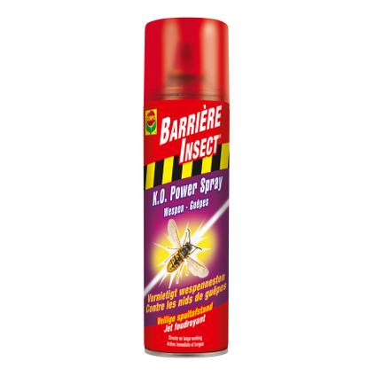 Insecticide spray guêpes Compo Barrière Insect K.O. Power 500ml