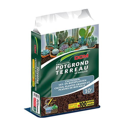 DCM potgrond 'Cactussen, Rots- & Vetplanten' 10 L