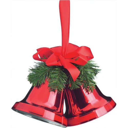 Cloches rouges 160 mm