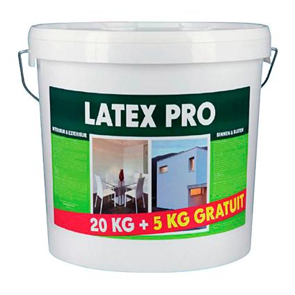 Latex Pro latex verf wit mat 25kg