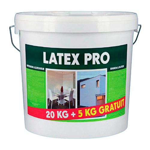 Latex Pro latex verf wit mat 25kg