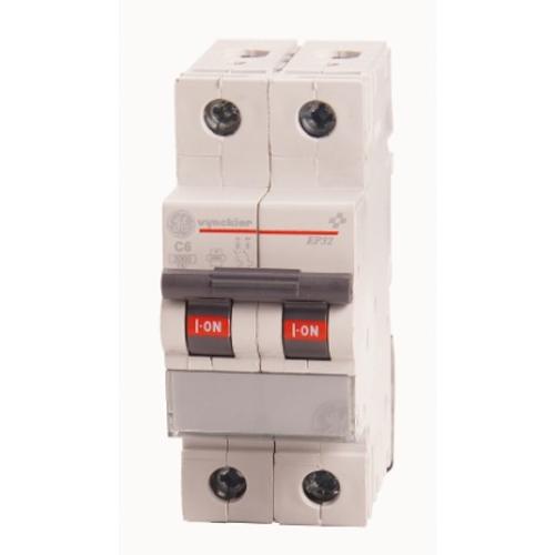 Disjoncteur modulaire 2P 6A