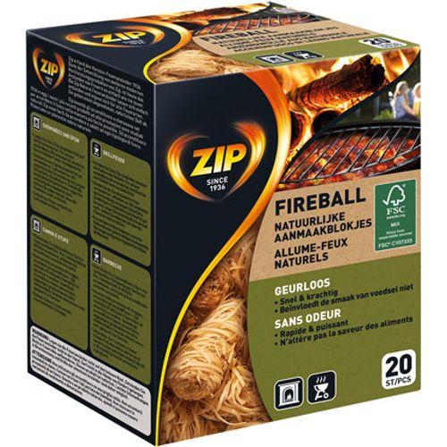 Allume-feu Zip 'Fireball' - 20 pcs