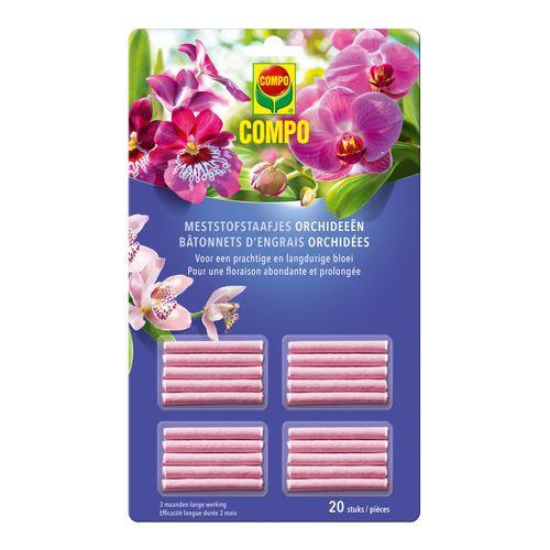 Engrais bâtonnets orchidées Compo 20pcs