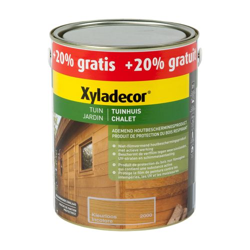 Lasure Xyladecor 'Chalet' incolore mat 3L