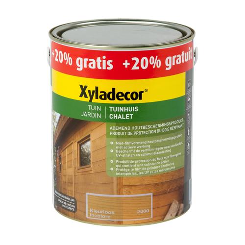 Lasure Xyladecor 'Chalet' incolore mat 3L