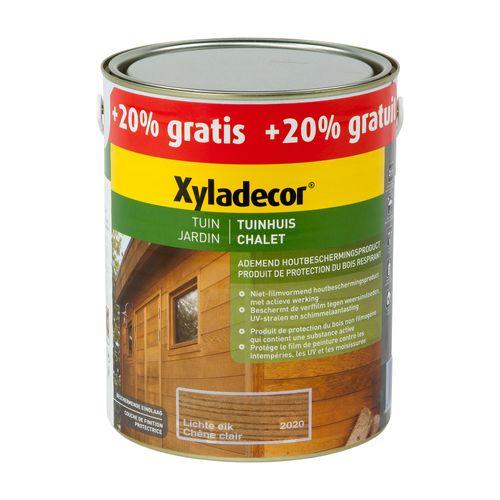 Xyladecor houtbeits 'Tuinhuis' lichte eik mat 3L