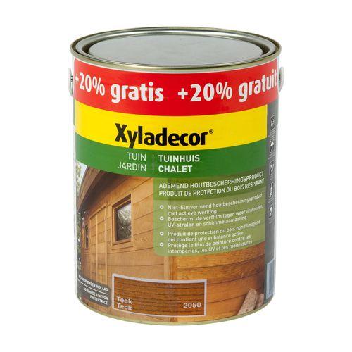 Lasure Xyladecor 'Chalet' teck mat 3L