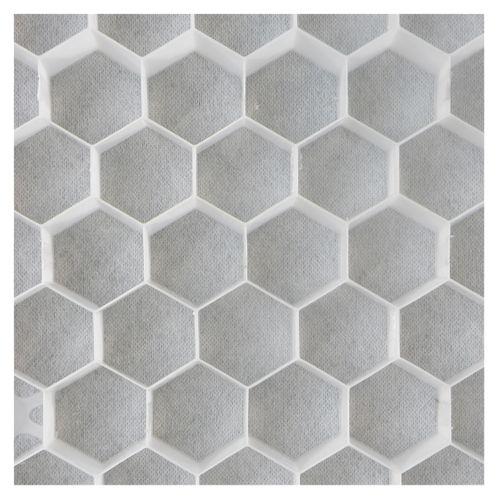 Nidagravel 129 - 120x80x2.9cm blanc