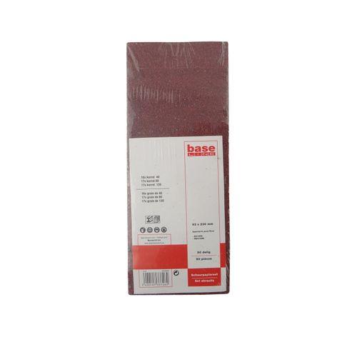 Papier de verre Baseline 230x93mm - 50 pcs