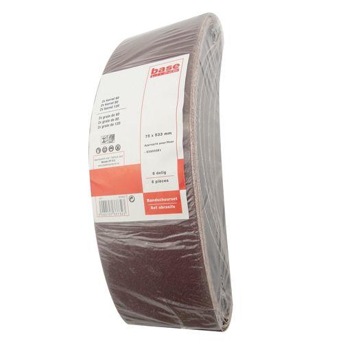 Papier de verre Baseline 533x75 - 6 pièces