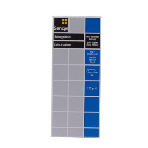 Colle à tapisser pour papier peint normal Sencys 125 g