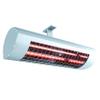 Chauffage infrarouge Domasol 'Domatherm' aluminium anticorrosif 44,4 x 11 cm