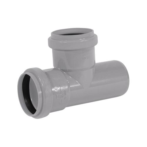 Martens T-stuk met manchet 'MVV - 90 graden' PVC diam 40 mm