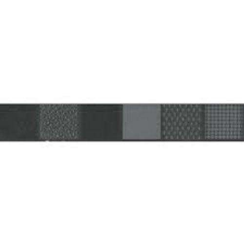 Listello Barra Hardrock Preto 3,5x25cm