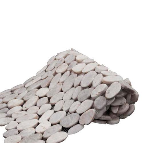 Wandtegel Pebblestone Nature crème 35x150cm