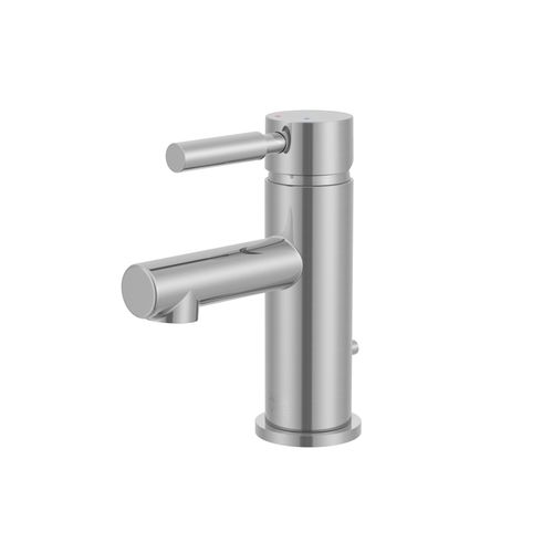 Mitigeur lavabo AquaVive Kobuk bec bas effet inox