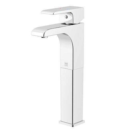 Mitigeur de lavabo AquaVive 'Ootsa-Haut' haut chromé