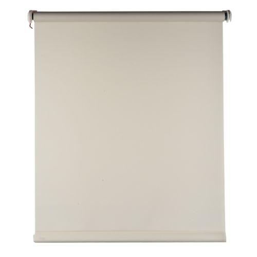 Baseline rolgordijn lichtdoorlatend beige 150 x 175 cm