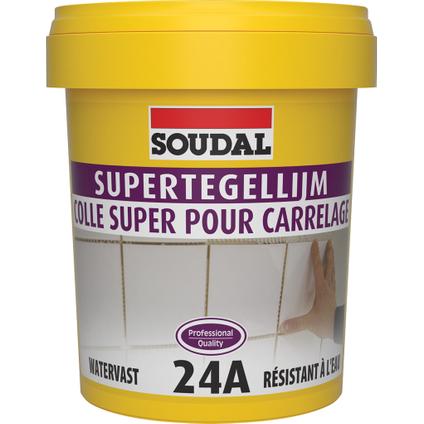 Colle carrelage Soudal 'Super 24A' 1 kg