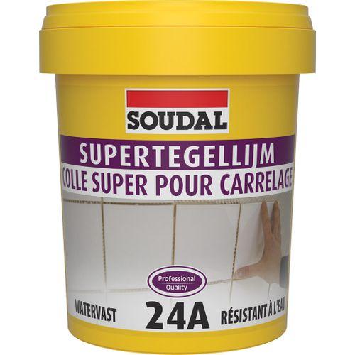 Soudal tegellijm 'Super 24A' 1 kg