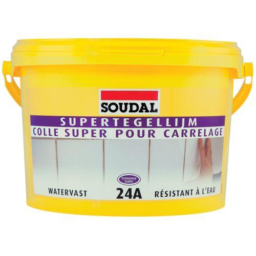 Colle carrelage Soudal 'Super 24A' 5 kg